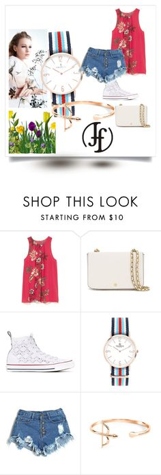 """Franco Florenzi"" by gold-phoenix ❤ liked on Polyvore featuring Vince Camuto, Tory Burch and Converse"