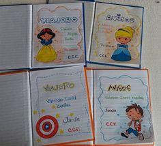 Caratulas para cuadernos de la web Notebook, Bullet Journal, Education, Craft, Decorated Notebooks, Cute Stuff, Crowns, Decorations, Onderwijs