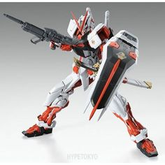 Gundam Seed Astray Master Grade 1/100 Plastic Model : MBF-P02 Gundam Astray Red Frame