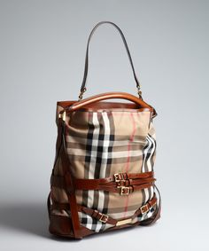 I'm starting to look at Burberry and want one! (perfect fall bag)