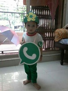 Whatsapp costume