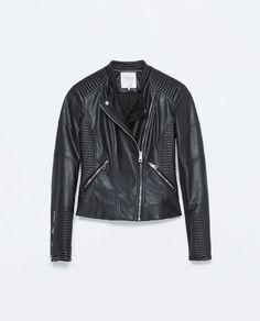 FAUX LEATHER BIKER JACKET-Jackets-Jackets-WOMAN | ZARA United States