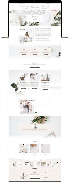 Website Layout, Cv Website, Blog Layout, Website Themes, Website Ideas, Web Layout, Ui Ux Design, Homepage Design, Wordpress Website Design