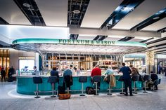 The Bar at Fortnum & Mason (Heathrow), Restaurant or Bar in a transport space | Restaurant & Bar Design Awards