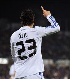 The German Zidane, Mesut Ozil.
