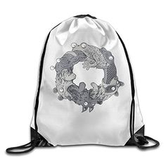The Food Chain The Circle Of Life Cool Drawstring Travel Sports Backpack >>> Visit the image link more details. (This is an affiliate link) #TravelGymBags