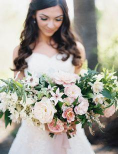 Soft, romantic pastel bouquet