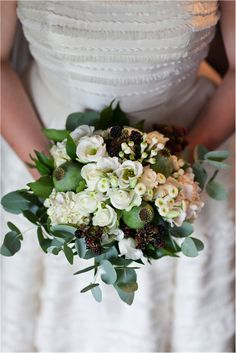 Wedding Flowers On Pinterest Eucalyptus Bouquet Alternative Wedding