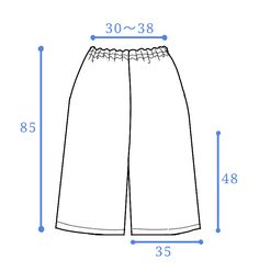 ★여성 패턴★간단 와이드 팬츠 : 네이버 블로그 Sewing Pants, Sewing Clothes, Diy Clothes, Sewing Patterns Free, Clothing Patterns, Dress Patterns, Fashion Sewing, Kimono Fashion, Pants Tutorial