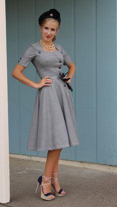 Womens Sewing Patterns | Sew Chic LN1517 London Dress Pattern