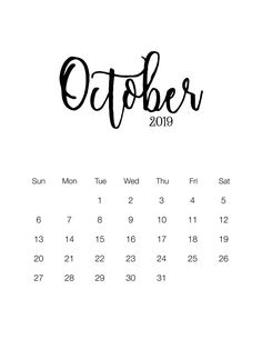 Check out List of October 2019 Calendar with Holidays with Notes, To-Do List, October 2019 Holidays USA UK Canada Malaysia Philippines Singapore, India, October Holidays 2019 Printable Calendar Template