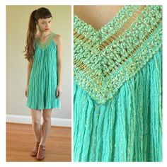 vintage gauzy grecian dress by santokivintage on Etsy, $32.00