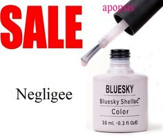 40502 - Negligee (pure pink shimmering color), For french manicures, too --Shellac Sales