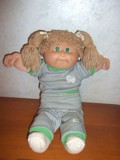 Cabbage Patch Dolls. 1980's parents went crazy for these