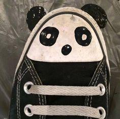 Shoe Featuring panda (Creative Illustrations)