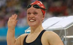 Ellie Simmonds amazing win, well done Ellie!
