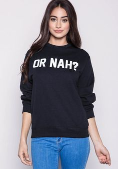 Private Party Or Nah Graphic Sweatshirt - Clothes