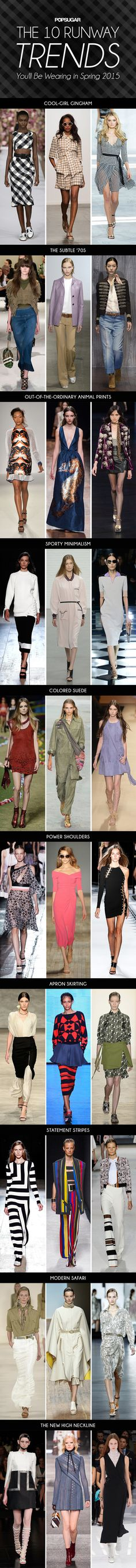 The 10 Runway Trends You'll Be Wearing This Spring Love the Pink Dress