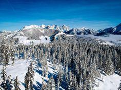 Kitzbüheler Alpen - Die schönsten Ski -Pisten für Genießer! Austria, Art Projects, Outdoor, Mountains, Nature, Travel, New Zealand, Waiting, Waterfall