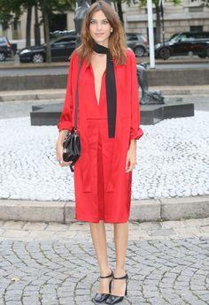 Alexa Chung in Prada