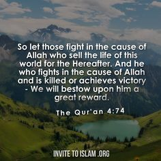 Invite To Islam : Photo Quran Quotes, Quran Sayings, Hindi Quotes, Noble Quran, Be Exalted, All About Islam, Allah Love, Islam Religion, Muslim Quotes
