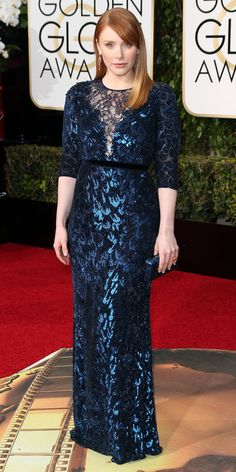 2016 Golden Globes Red Carpet Arrivals - Bryce Dallas Howard - from InStyle.com