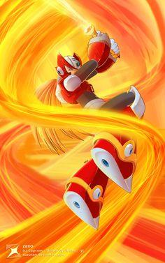 Zero from Mega Man X