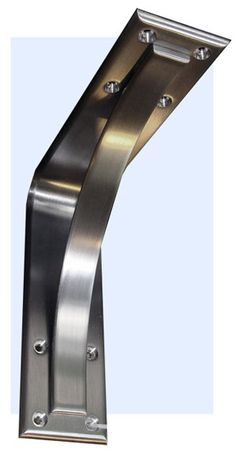 McLean stainless steel counter brackets  invitinghome.com