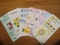 Travel brochures- great to make for a region or culture that is being taught in class or as a project for students to investigate a country, time period, or culture of interest.