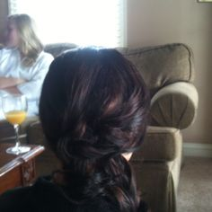 Bridesmaid hair!