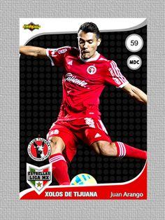 Card: Juan Arango  Club: @XolosOficial  Colección: Liga Mx / Estrellas de la liga