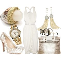 """Perfect for All White Party """"Untitled"""""""