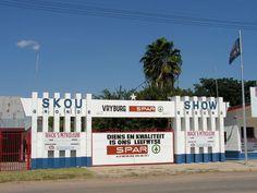 Vryburg Show entrance.