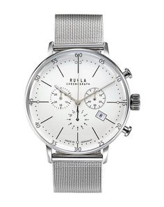 Garde' Ruhla Uhren aus Ruhla Herrenuhr Chronograph 91203M Bauhaus Design NEU