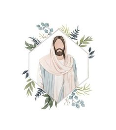 Jesus Christ Lds, Pictures Of Jesus Christ, Savior, Jesus Christ Painting, Jesus Art, Watercolor Portraits, Watercolor Print, Watercolor Trees, Watercolor Landscape
