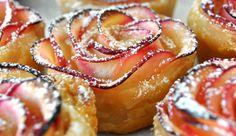 Navidad - Esta flor es en realidad un delicioso postre d manzana
