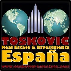 """""""TOSKOVIC Real Estate & Investments"""" """"TOSKOVIC España"""" www.toskovicrealestate.com"""