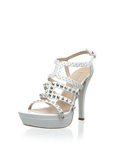 63% OFF Pura Lopez Women's Platform Sandal (Baby Calf Blanco)