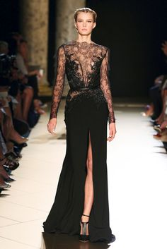 Elie Saab Fall 2012 Haute Couture Look 2