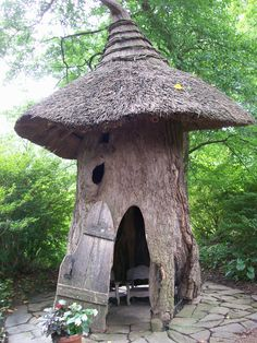 Faerie Haven ~ The Enchanted Woods at Winterthur, see it on my blog and inspiring gardens tabs at http://ourfairfieldhomeandgarden.com