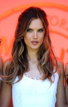 More Pics of Alessandra Ambrosio Long Curls (10 of 15) - Alessandra Ambrosio Lookbook - StyleBistro