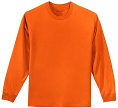 Joe's USA(tm) Youth Long Sleeve Cotton T-Shirt-Orange-S J... https://www.amazon.com/dp/B01KY06SNI/ref=cm_sw_r_pi_dp_x_ygX6xb58P5FD4