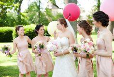 Similiar bridesmaid dress color