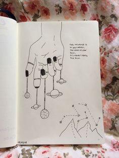 Arte garabateado Kittens newborn baby kittens for sale Pencil Art Drawings, Easy Drawings, Drawing Sketches, Drawing Ideas, Drawing Journal, Tumblr Art Drawings, Space Drawings, Galaxy Drawings, Tumblr Sketches