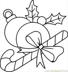 free coloring pages christmas ornaments coloring page - Christmas Ornaments Coloring Page