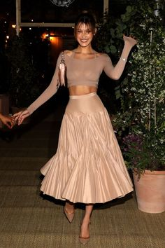 Celebrity Sightings At The Annual Cannes Film Festival - Day 2 # high Fashion Bella Hadid Flaunted Major Underboob in Sexy Sheer Dress on the Runway Bella Hadid Outfits, Bella Hadid Style, Looks Chic, Looks Style, Women's Dresses, Dress Outfits, Party Outfits, Party Dresses, Bella Dresses