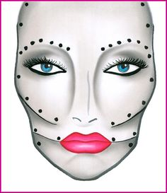 MAC Cosmetics - Halloween Face Charts and Halloween Makeup - High Quality