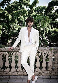 Supermodel Marlon Teixeira Stars in Murilo Lomas Summer 2017 Ads