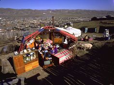Mongolia from Material World: A Global Family Portrait by Peter Menzel and Faith D'Aluisio