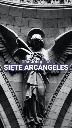 Spanish Prayers, Spiritual Prayers, Angel Tattoo Designs, Esoteric Art, Yoga Mantras, Magic Women, Prayer Times, Vicks Vaporub, Plant Therapy